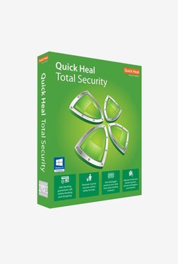 Quick Heal Total Security - 2 PCs for 1 Year