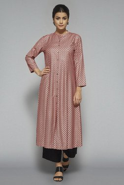 Zuba by Westside Pink Printed Kurta