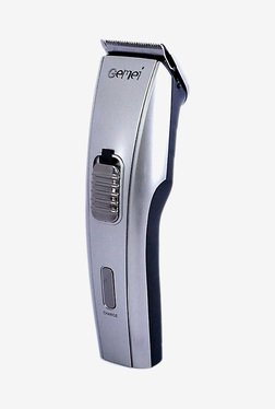 Gemei GM-709 Trimmer For Men (Silver)