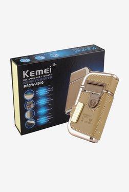 Kemei RSCW-5600 Shaver For Men (Khaki)