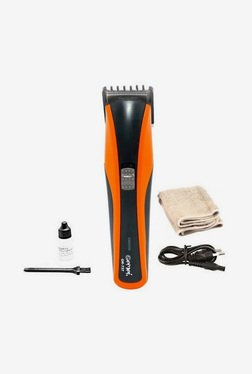Gemei Gm-737-T Trimmer For Men (Black & Orange)