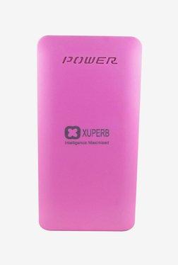 Xuperb XU-Poly-Axis-100 10000 MAh Power Bank (Pink)