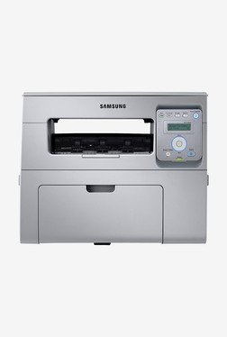 Samsung SCX-4021S Monochrome Laser Printer (Grey)