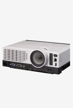 Ricoh PJ-TS100 Single Chip DLP Portable Projector (White)