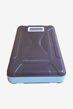 Powerocks Mach 125 12500mAh Power Bank (Black & Blue)