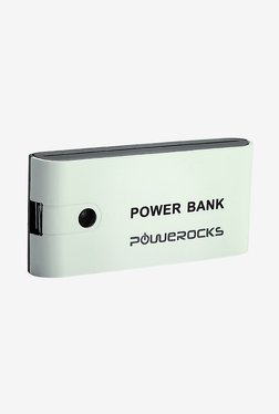 Powerocks Axis 52 5200 MAh Power Bank (Black & White)