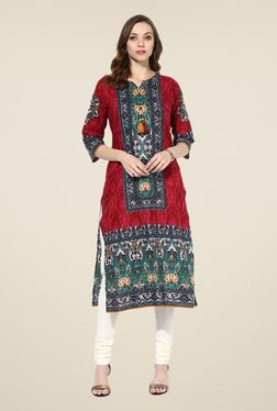 Shree Multicolor Cotton Printed Kurta - Mp000000000402443