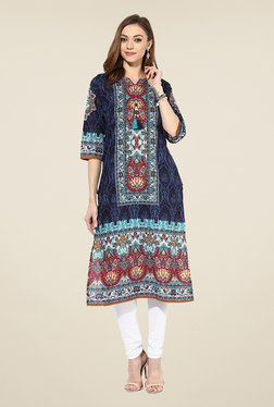 Shree Multicolor Cotton Printed Kurta - Mp000000000401851
