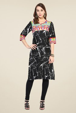 Shree Multicolor Cotton Printed Kurta - Mp000000000402520