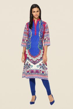 Shree Multicolor Cotton Printed Kurta - Mp000000000402654