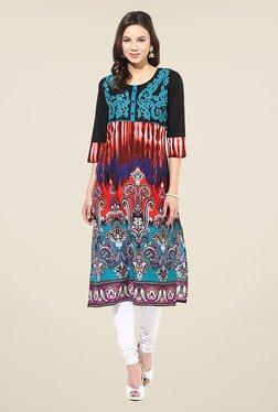 Shree Multicolor Cotton Printed Kurta
