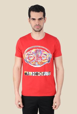 Family Guy Quahogfest Coral Graphic T-shirt