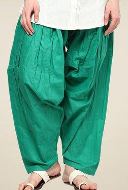 Shree Green Cotton Patiala Salwar