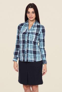 Kaaryah Blue Checks Shirt