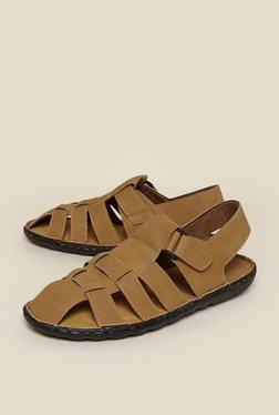 Zudio Tan Fisherman Sandals