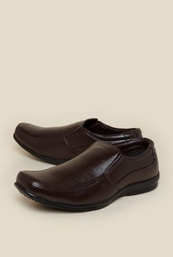Zudio Brown Loafer Shoes