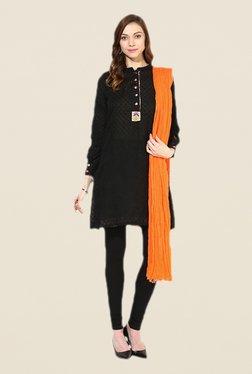 Stylenmart Orange Cotton Dupatta