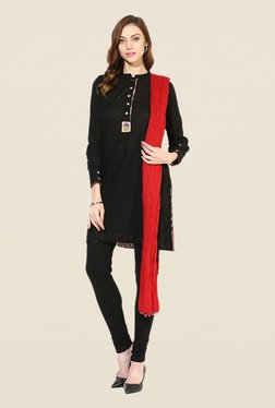 Stylenmart Red Cotton Dupatta