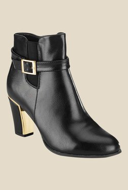 Tresmode Psteel Black Booties