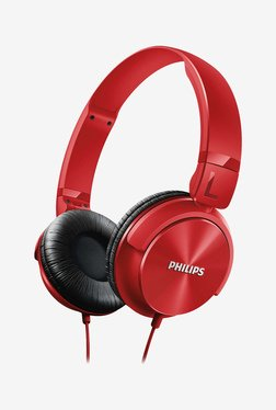 Philips SHL3095 On The Ear Headphones (Red)