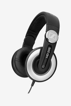 Sennheiser HD205 II Over The Ear Headphones (Black)