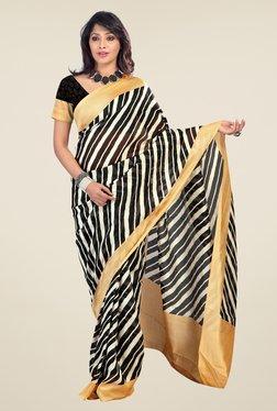Triveni Multicolor Printed Art Silk Saree