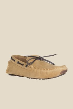 Geox Camel Boat Shoes