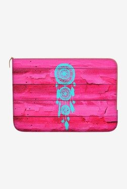 "DailyObjects Hipster Teal MacBook 12"" Zippered Sleeve"