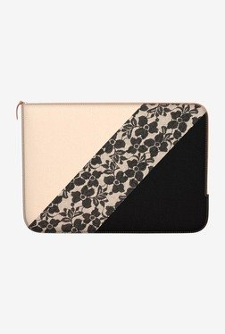 "DailyObjects Lace Block MacBook 12"" Zippered Sleeve"