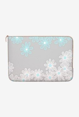 "DailyObjects Daisy Dance MacBook 12"" Zippered Sleeve"
