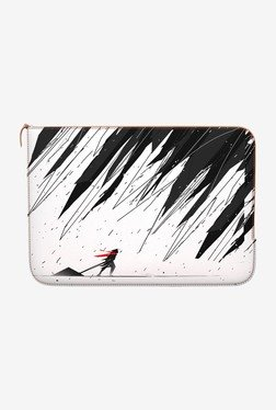 "DailyObjects Geometric Storm MacBook 12"" Zippered Sleeve"