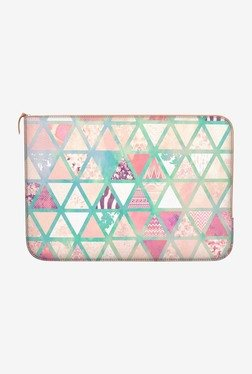 "DailyObjects Triangles Patch MacBook Pro 15"" Zippered Sleeve"