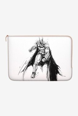"DailyObjects Batman Sketch MacBook 12"" Zippered Sleeve"