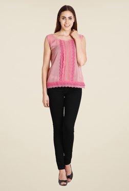 Soie Light Pink Lace Top