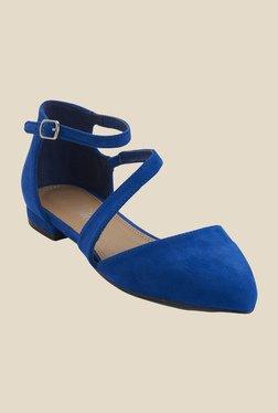 Urban Monkey Blue Ankle Strap Sandals
