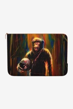 "DailyObjects Commander Chimp MacBook 12"" Zippered Sleeve"