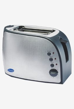Glen GL3018 825W Auto Pop-Up Toaster (Silver)