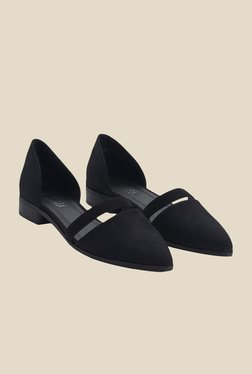 Urban Monkey Black D'orsay Shoes