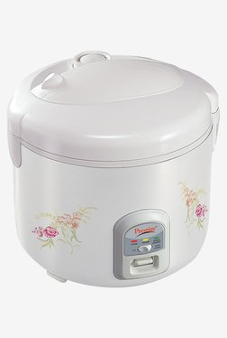 Prestige PRWCS 2.2L Electric Rice Cooker (White)
