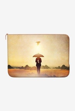 "DailyObjects Wait For Rain MacBook Pro 13"" Zippered Sleeve"