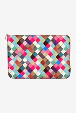 "DailyObjects UbriK Checker MacBook 12"" Zippered Sleeve"