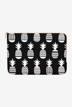 "DailyObjects White Pineapple MacBook 12"" Zippered Sleeve"
