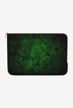 "DailyObjects Reptile Skin MacBook 12"" Zippered Sleeve"