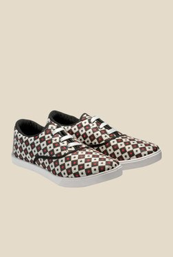 Juan David Brown & Red Plimsolls
