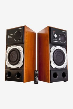 Envent Rock 301 2.0 Bluetooth Tower Speaker (Brown)