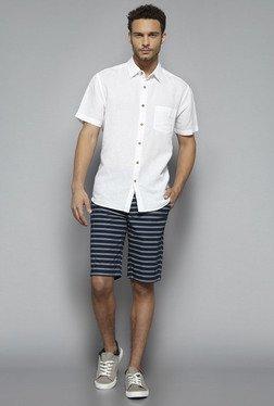 Westsport By Westside White Solid Shirt