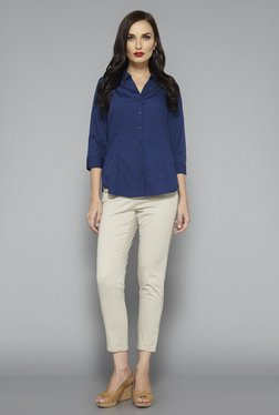 5def28593b Wardrobe by Westside Beige Delta Trouser