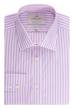 Hawes & Curtis Pink Striped Shirt