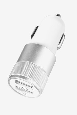 Nextech USB19SL Dual USB Port Car Charger (White)
