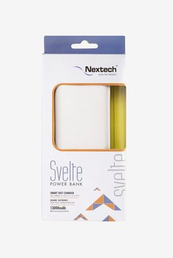Nextech SVELTE PB1350WH Dual Charging 13000 MAh Power Bank